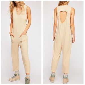 Free People Sleeveless Jumpsuit